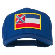 Eastern State Mississippi Embroidered Patch Cap - Royal