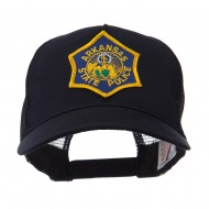 USA Mid State Police Embroidered Patch Cap - AR State