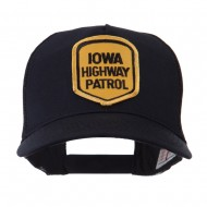 USA Mid State Police Embroidered Patch Cap - IA Hwy