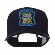USA Mid State Police Embroidered Patch Cap - KS Hwy