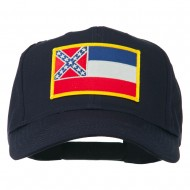 Eastern State Mississippi Embroidered Patch Cap - Navy