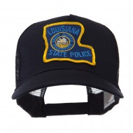 USA Mid State Police Embroidered Patch Cap - LA State