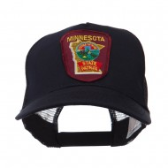 USA Mid State Police Embroidered Patch Cap - MN State