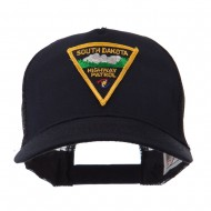 USA Mid State Police Embroidered Patch Cap - SD Hwy
