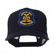 USA Mid State Police Embroidered Patch Cap - MO Hwy