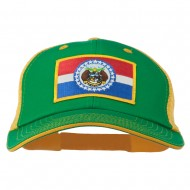Big Mesh State Missouri Patch Cap - Kelly Gold