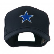 Mascot of Star with Outline Embroidered Cap - Navy
