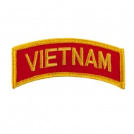 Military Related Text Embroidered Patch - Vietnam