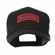 Military Related Text Embroidered Patch Cap - Ranger
