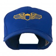 Original Airforce Military Wings Outline Embroidered Cap - Royal