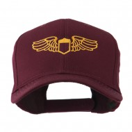 Original Airforce Military Wings Outline Embroidered Cap - Maroon