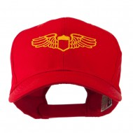 Original Airforce Military Wings Outline Embroidered Cap - Red