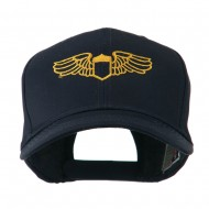 Original Airforce Military Wings Outline Embroidered Cap - Navy