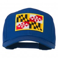 Eastern State Maryland Embroidered Patch Cap - Royal
