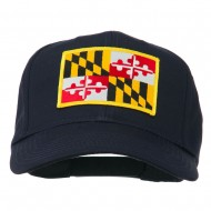 Eastern State Maryland Embroidered Patch Cap - Navy