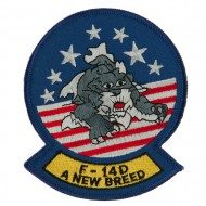US Navy Circular Large Patch - F14D Breed