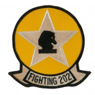 US Navy Circular Large Patch - Fighting 202