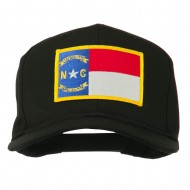 Eastern State North Carolina Embroidered Patch Cap - Black
