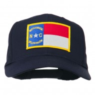 Eastern State North Carolina Embroidered Patch Cap - Navy
