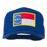 Eastern State North Carolina Embroidered Patch Cap - Royal