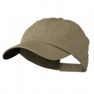 Low Profile Normal Dyed Cap - Khaki Navy