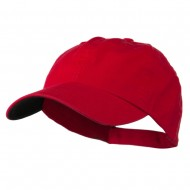Low Profile Normal Dyed Cap - Red Navy