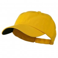 Low Profile Normal Dyed Cap - Yellow Navy