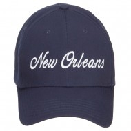 City of New Orleans Embroidered Cap - Navy