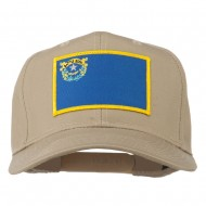 State of Nevada Embroidered Patch Cap - Khaki