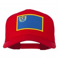 State of Nevada Embroidered Patch Cap - Red