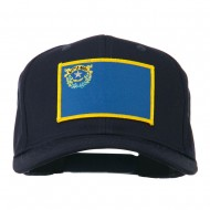 State of Nevada Embroidered Patch Cap - Navy