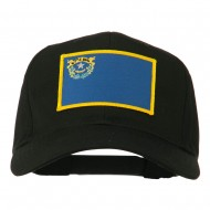 State of Nevada Embroidered Patch Cap - Black