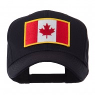 North and South America Flag Embroidered Patch Cap - Canada