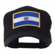 North and South America Flag Embroidered Patch Cap - El Salvador