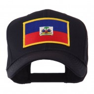 North and South America Flag Embroidered Patch Cap - Haiti
