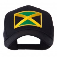 North and South America Flag Embroidered Patch Cap - Jamaica