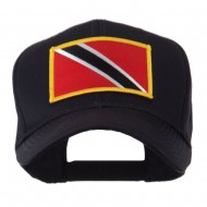 North and South America Flag Embroidered Patch Cap - Trinidad
