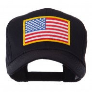 North and South America Flag Embroidered Patch Cap - United States