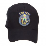 Maine State Police Patch Cap - Black