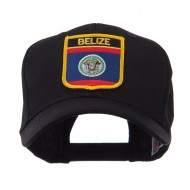 North and South America Flag Shield Patch Cap - Belize