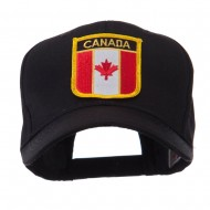 North and South America Flag Shield Patch Cap - Canada