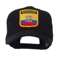 North and South America Flag Shield Patch Cap - Ecuador