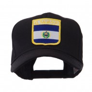 North and South America Flag Shield Patch Cap - El Salvador
