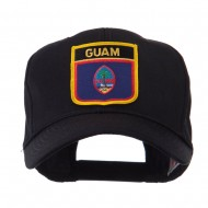 North and South America Flag Shield Patch Cap - Guam