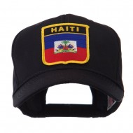 North and South America Flag Shield Patch Cap - Haiti