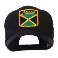 North and South America Flag Shield Patch Cap - Jamaica