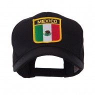 North and South America Flag Shield Patch Cap - Mexico