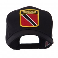 North and South America Flag Shield Patch Cap - Trinidad