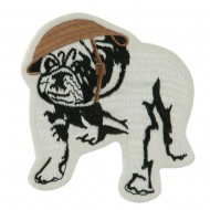US Navy Other Large Patch - White Bulldog