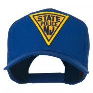 New Jersey State Police Patched High Profile Cap - Royal
